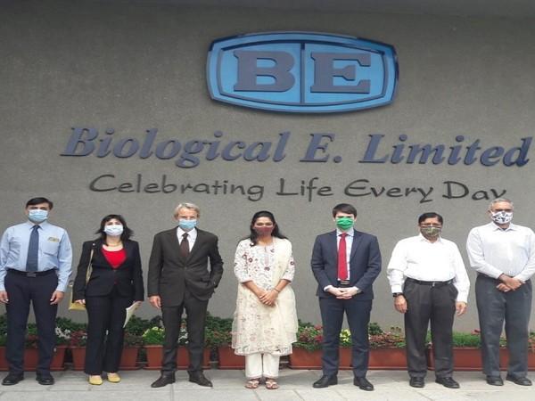 French Ambassador to India Emmanuel Lenain visited Bharat Biotech (Photo Credit: Twitter/ Emmanuel Lenain)