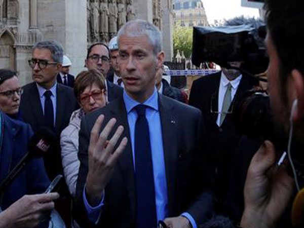 France's Culture Minister Franck Riester (File photo)