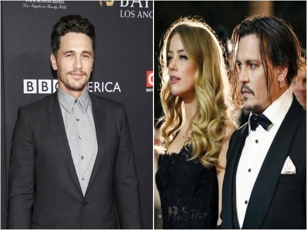James Franco, Amber Heard and Johnny Depp