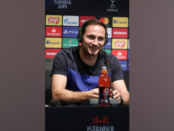 Chelsea team manager Frank Lampard