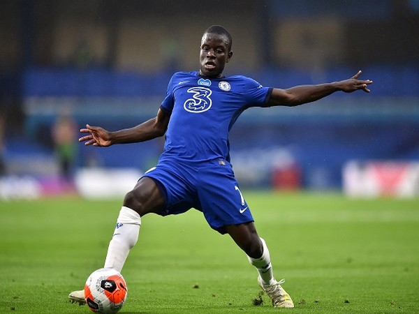 Chelsea's N'Golo Kante in action