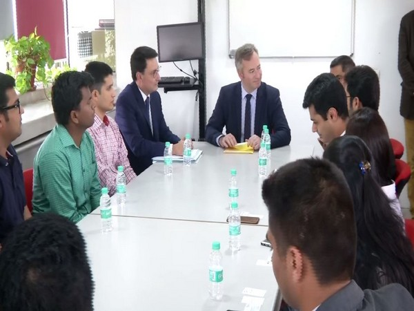 French Minister of State for Europe and Foreign Affairs Jean-Baptiste Lemoyne on Monday held a special session with Indian alumni of French institutions. Photo/ANI
