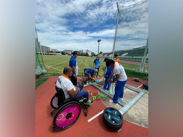 Indian para-athletes (Image: Paralympic Committee of India)