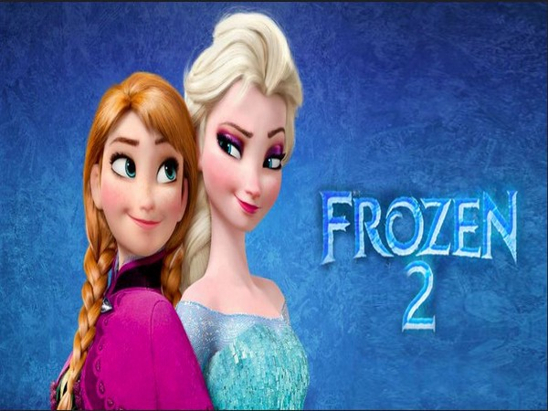 Poster of the film 'Frozen 2'