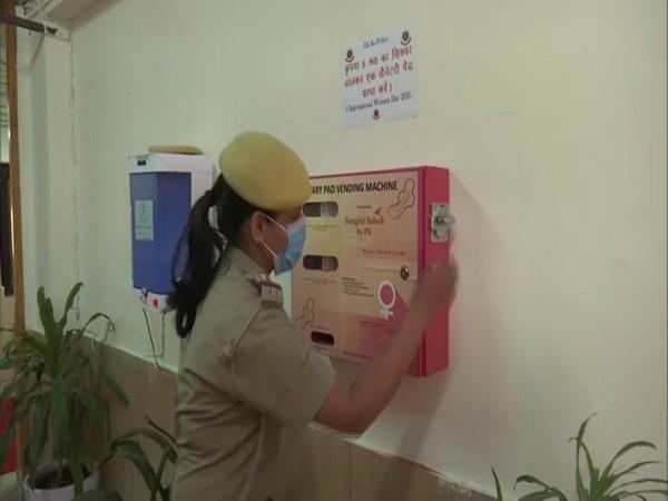 Sanitary napkin vending Machine at RK Puram  PS