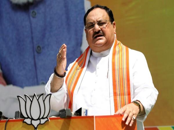 Bharatiya Janata Party (BJP) National President JP Nadda (file pic/ANI).