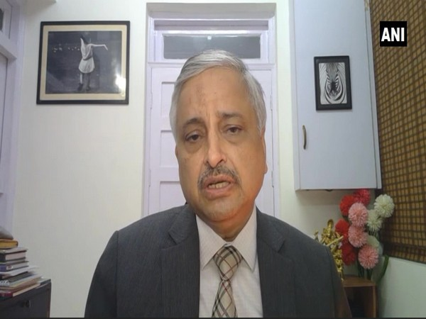 AIIMS New Delhi Director Randeep Guleria during an interview with ANI. (Photo/ANI)