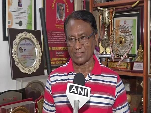 Former Indian hockey player Ashok Kumar