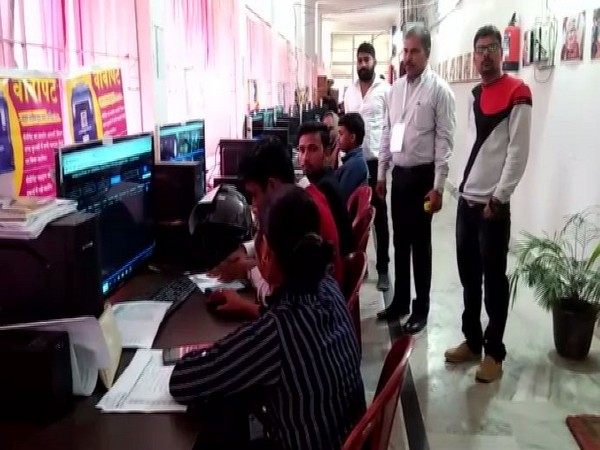An online monitoring centre in Garhwa in Jharkhand on Saturday. Photo/ANI