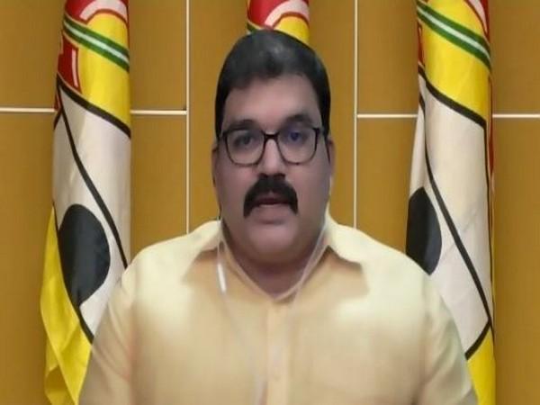 TDP spokesperson K Pattabhiram (Photo/ANI)