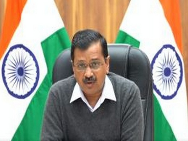 Delhi Chief Minister Arvind Kejriwal speaking on the issue of bird flu on Saturday. (Photo/ANI)