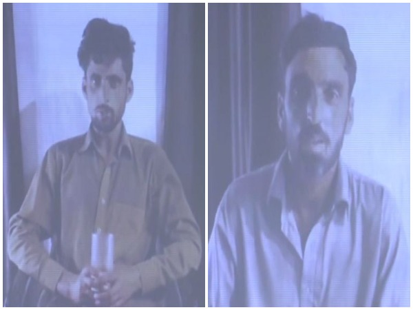 Two LeT terrorists held by Indian Army in Jammu and Kashmir. (Photo/ANI)