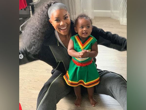 Gabrielle along with daughter Kaavia James Union Wade (Image courtesy: Instagram)