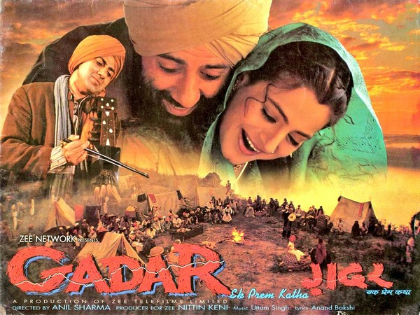Poster of 'Gadar: Ek Prem Katha'
