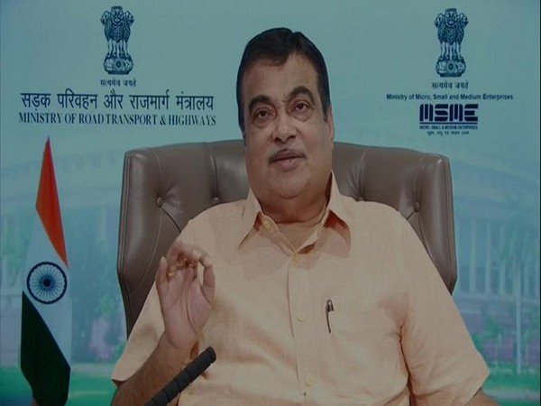 Union Minister Nitin Gadkari speaking at the event by CII via video conferencing on Saturday.