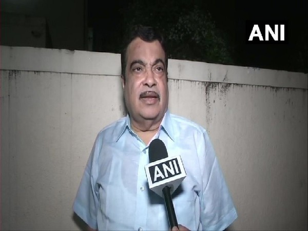 Union Minister Nitin Gadkari speaking to ANI in Nagpur, Maharashtra