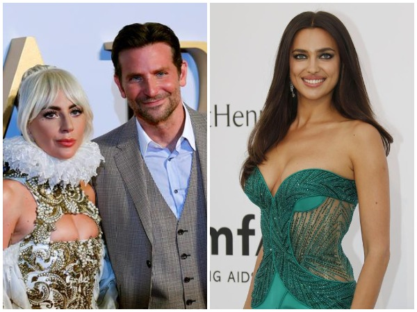 Lady Gaga, Bradley Cooper and Irina Shayk
