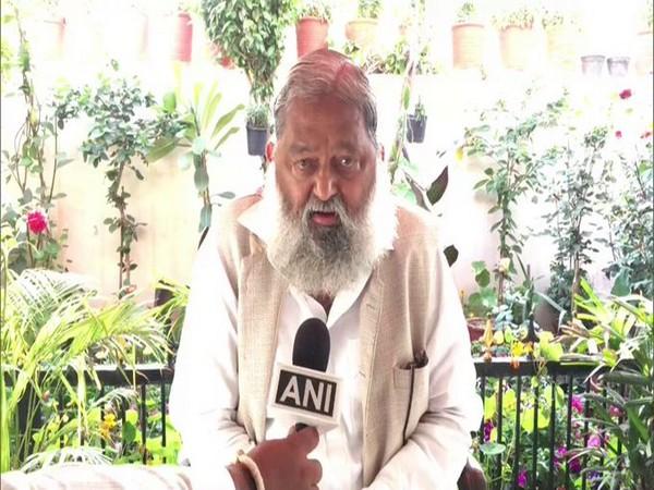 Haryana Health Minister, Anil Vij (file photo)