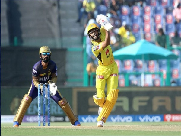 CSK opening batsman Ruturaj Gaikwad in action. (Photo/ iplt20.com)
