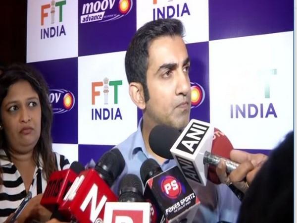 Cricketer-turned-politician Gautam Gambhir