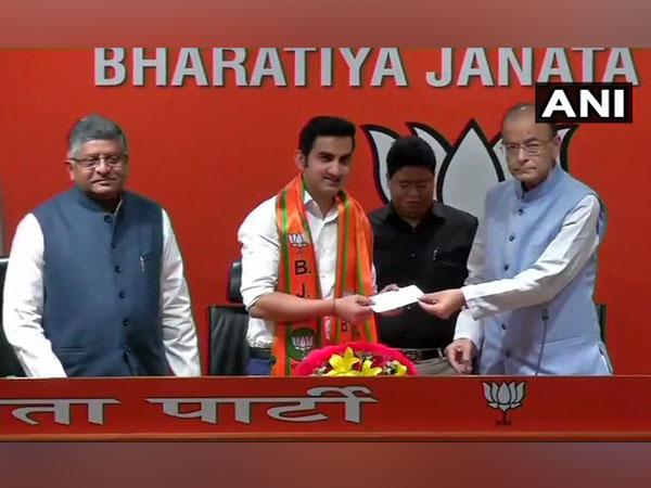 Former Cricketer Gautam Gambhir joins BJP on Friday