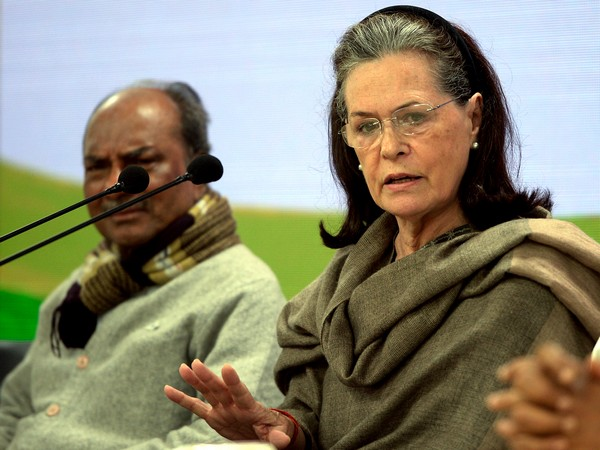 Congress interim president Sonia Gandhi (File photo)