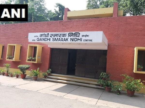 Visual of Gandhi Smarak Nidhi in Delhi.