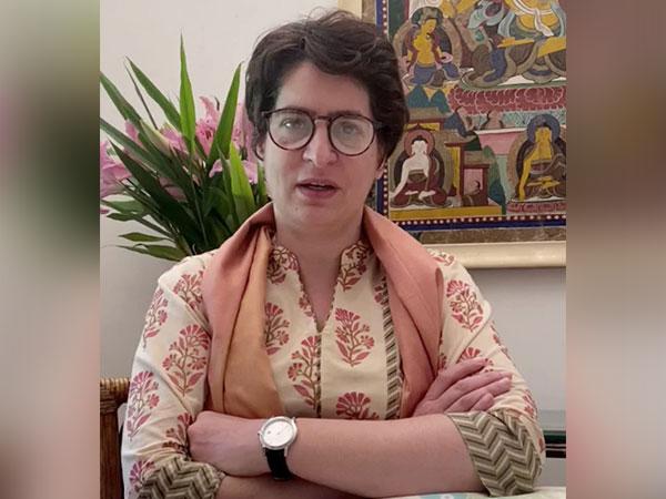 AICC General Secretary Priyanka Gandhi Vadra [Photo/ANI]