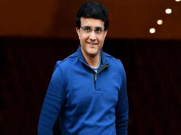 Sourav Ganguly (Photo/Sachin Tendulkar Twitter)