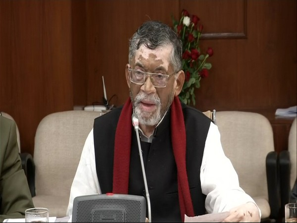 Union Labour and Employment Minister Santosh Kumar Gangwar [File Photo/ANI]