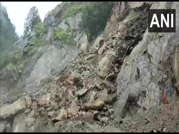Visual from Gangotri National highway. (Photo/ANI)