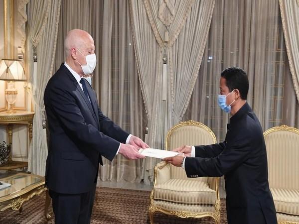 Ngulkham Jathom Gangte (Photo Credit: Indian Embassy in Tunisia)