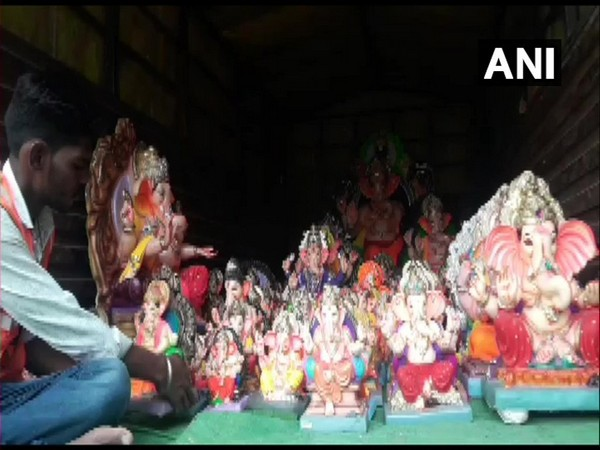 Ganpati idols submitted to District Administration instead of being immersed in water in Latur.