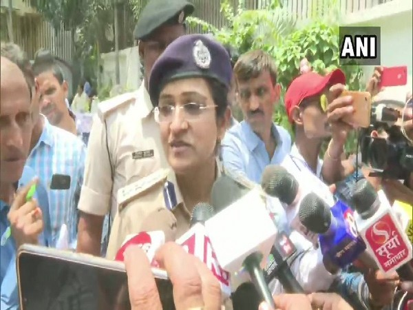 SSP Patna Garima Malik speaking to media in Bihar on Tuesday. Photo/ANI
