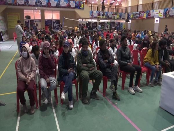 Visual of drug de-addiction awareness program in J-K's Srinagar