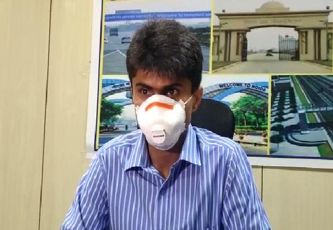 Gautam Buddh Nagar District Magistrate Suhas Lalinakere Yathiraj