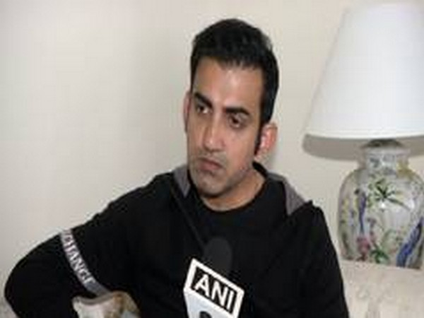 Former Indian cricketer Gautam Gambhir (File photo)