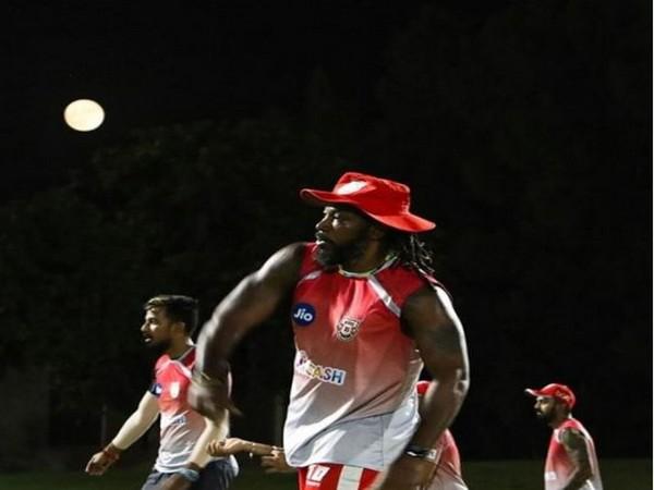 Kings XI Punjab batsmanle Chris Gayle. (Photo/ Kings XI Punjab Instagram)