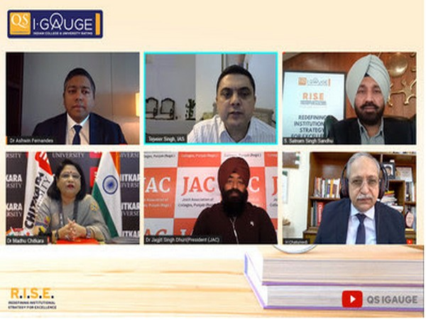 Education Rating Agency QS I-Gauge hosts first of its kind RISE Conference-2021 in Punjab