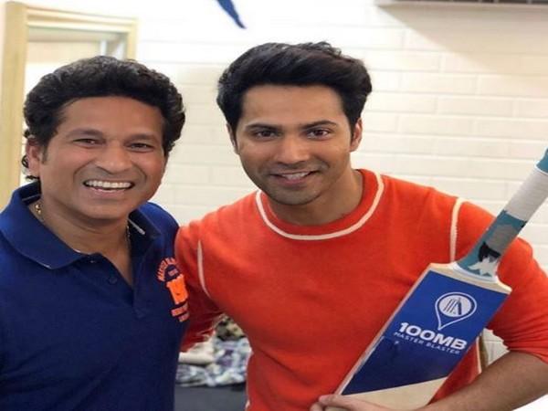 Varun Dhawan and Sachin Tendulkar, Image courtesy: Instagram