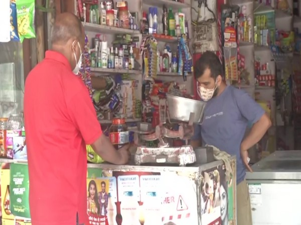 A visual from RK Puram's Sector 12 market area (ANI).