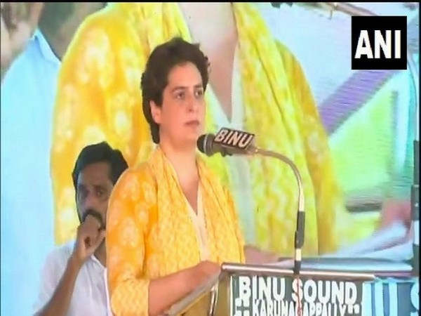 Congress General Secretary Priyanka Gandhi Vadra (file pic/ANI).