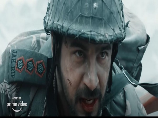 Sidharth Malhotra as Captain Vikram Batra in a still from 'Shershaah' trailer (Image source: Youtube)