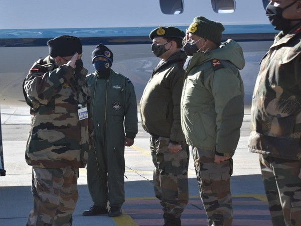 Chief of Defence Staff General Bipin Rawat on Monday reviewed operational preparedness at Ladakh sector. (Photo Credit: Northern Command, Indian Army)