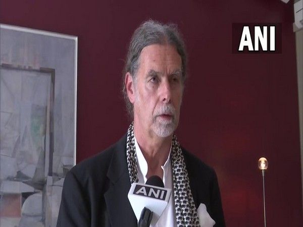 German envoy to India Walter J Lindner speaking with ANI on Monday