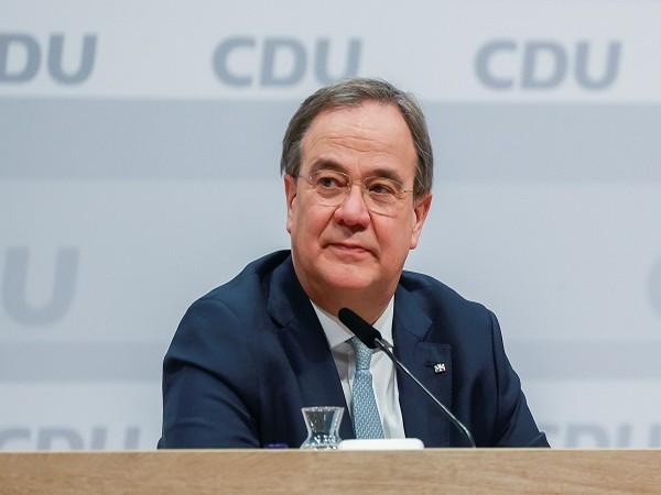 German Chancellor Angela Merkel's preferred successor Armin Laschet