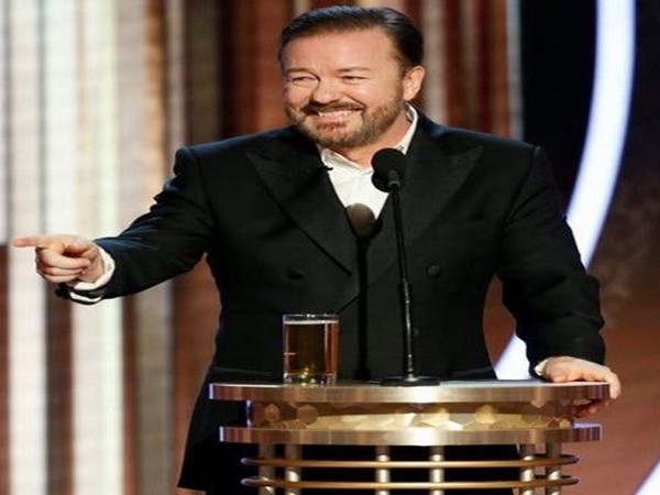 Gervais was showered with appreciation for his no holds barred monologue at the Golden Globes (Picture Courtesy: Instagram)
