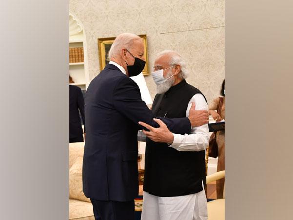 US President Joe Biden and Prime Minister Narendra Modi at White House
