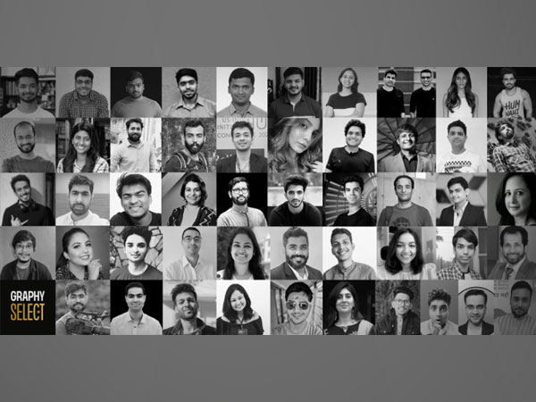 The 50 finalists of First-Ever Graphy Select Creator Accelerator Program