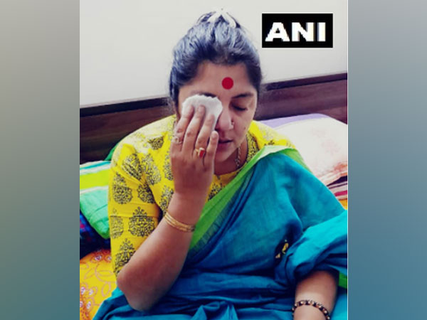 BJP MP Locket Chatterjee alleged that colour containing 'harmful chemicals' was thrown on her face at an event in Hoogly on Saturday.